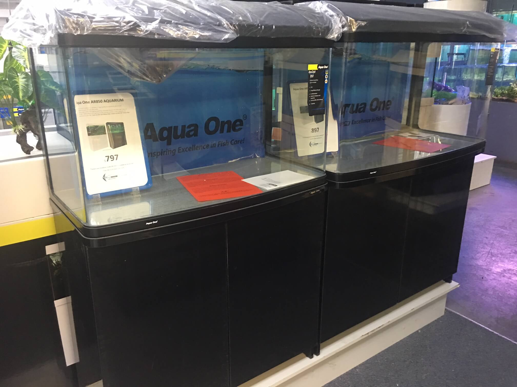 Aqua One Fish Tanks For Sale
